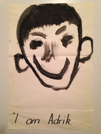 Adrik self portrait