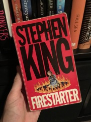 firestarter by stephen king on adrik kemp